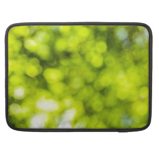 Green  Light Sparkles Design MacBook Pro Sleeve