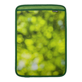 Green  Light Sparkles Design Sleeve For MacBook Air