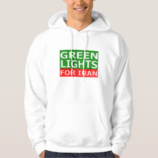 Green Lights Block Logo Hooded Pullovers
