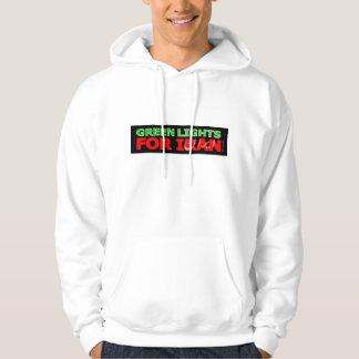 Green Lights for Iran Pullover