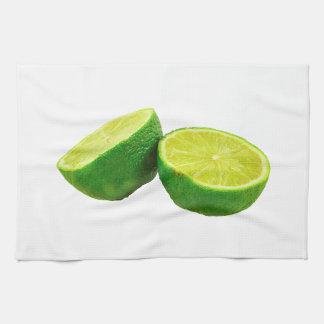 Green Lime Hand Towel