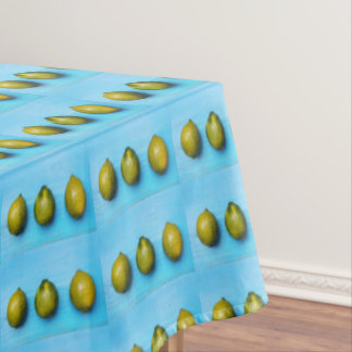 Green limones house decor, table runner