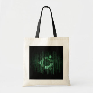 Green Linux Terminal Budget Tote Bag