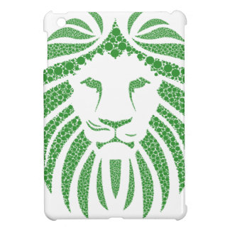 Green Lion Head Case For The iPad Mini