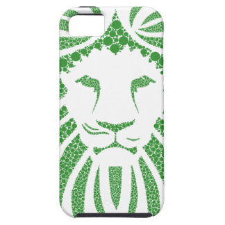 Green Lion Head iPhone 5 Case