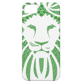 Green Lion Head iPhone 5 Cases