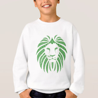 Green Lion Head Sweatshirt