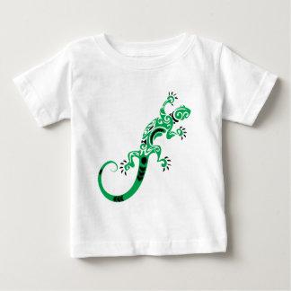 Green Lizard Drawing Baby T-Shirt
