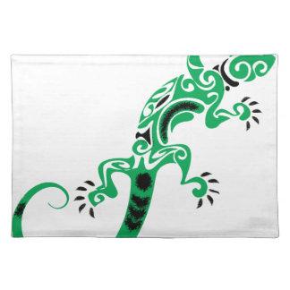 Green Lizard Drawing Placemat