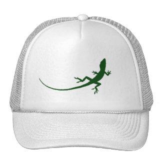Green Lizard Silhouette Cap