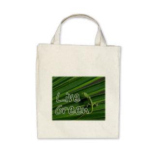 Green Lizard Tote Tote Bag