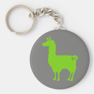 Green Llama Keychain
