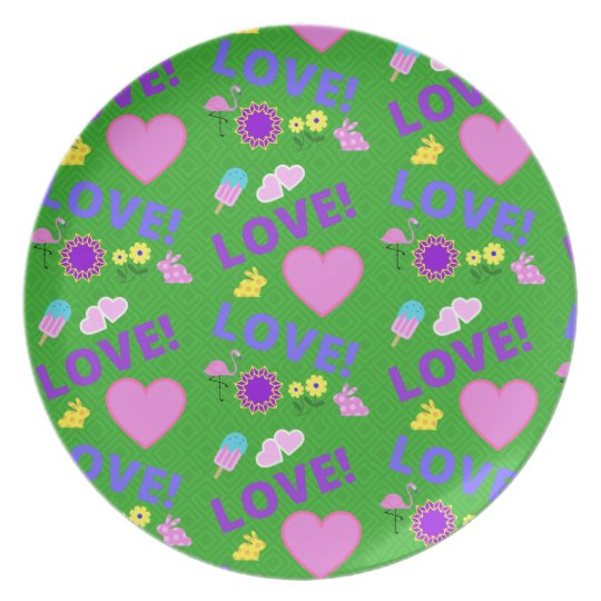 Green Love - 80s Rock Plate