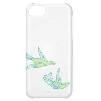 Green Love Birds IPhone Cover