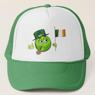 green lucky Irish flag emoji st patricks day Hat