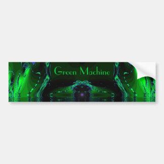 Green Machine Bumper Stickers
