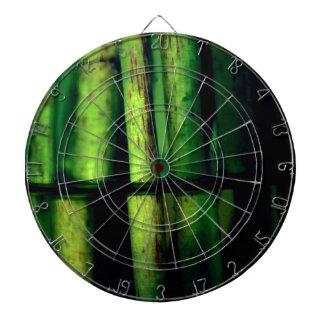 Green macro dartboard