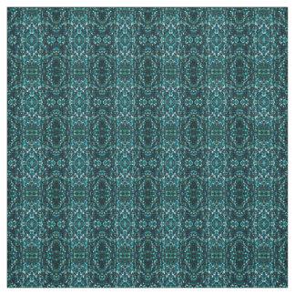 Green Macro Glitter Pattern Fabric