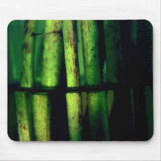 Green macro mouse pad