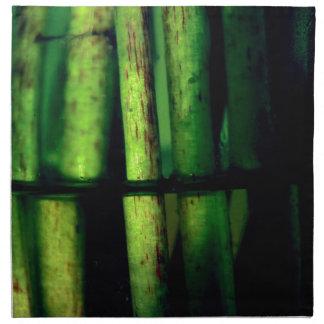 Green macro napkin