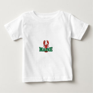 green Maine lobster Baby T-Shirt