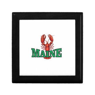 green Maine lobster Gift Box