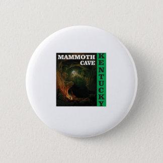 Green mammoth cave Kentucky 6 Cm Round Badge
