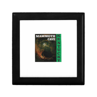 Green mammoth cave Kentucky Gift Box