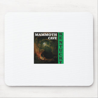Green mammoth cave Kentucky Mouse Pad