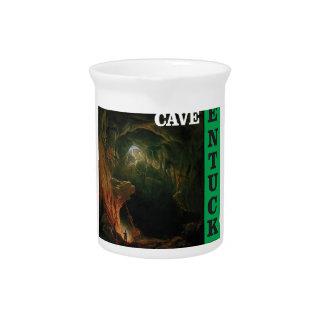 Green mammoth cave Kentucky Pitcher