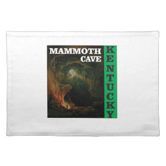 Green mammoth cave Kentucky Placemat