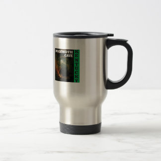 Green mammoth cave Kentucky Travel Mug
