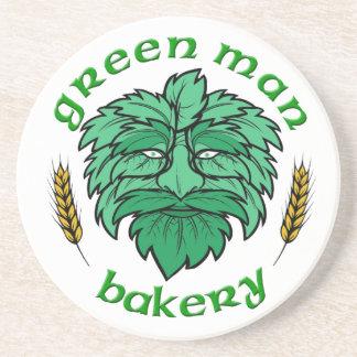 Green Man Bakery Coaster
