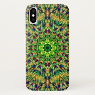 Green Man Festival Mandala iPhone X Case