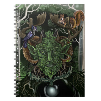 Green Man~ notebook