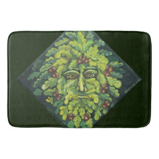 Green Man of the Woods Bath Mats