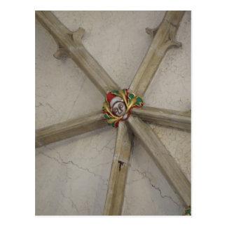 Green Man Postcard - Salisbury Cathedral