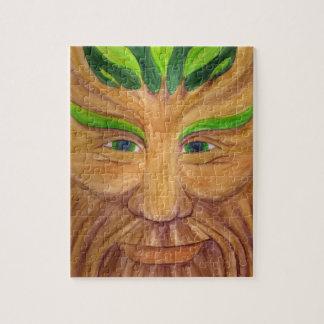 Green Man Puzzle