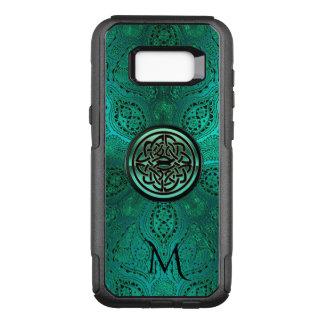 Green Mandala Celtic Knot Monogram S8 Case