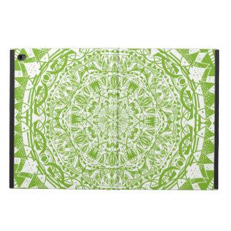 Green Mandala Pattern Powis iPad Air 2 Case