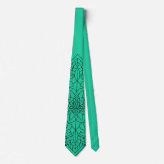 Green Mandala Tie
