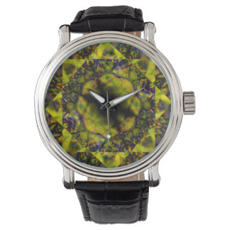 Green Mandala Watch