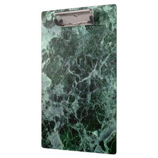 Green marble clipboard