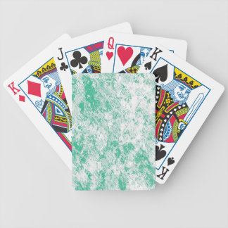 Green Marble Mesh Bicycle Playing Cards
