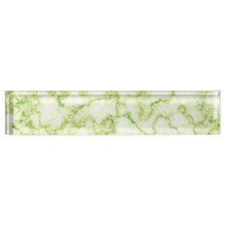 Green Marble Pattern Name Plate