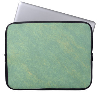 Green Marble Stone Computer Sleeve