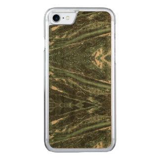 Green Marble Stone Texture Wood iPhone Case