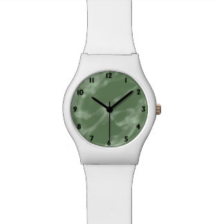 Green Marble Watch