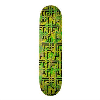 Green Maze Skateboard