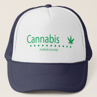 Green Medical Use Only Trucker Hat